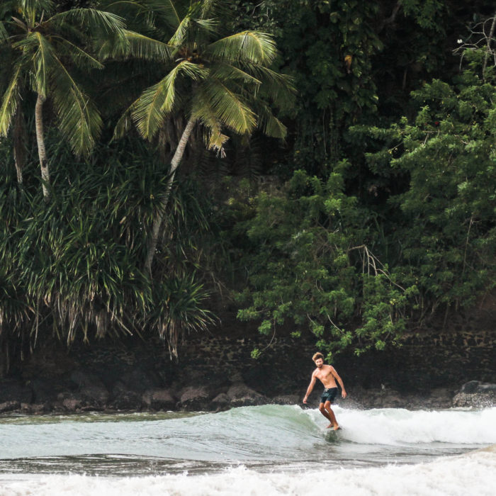 Surfing Ceylon Sliders Weligama