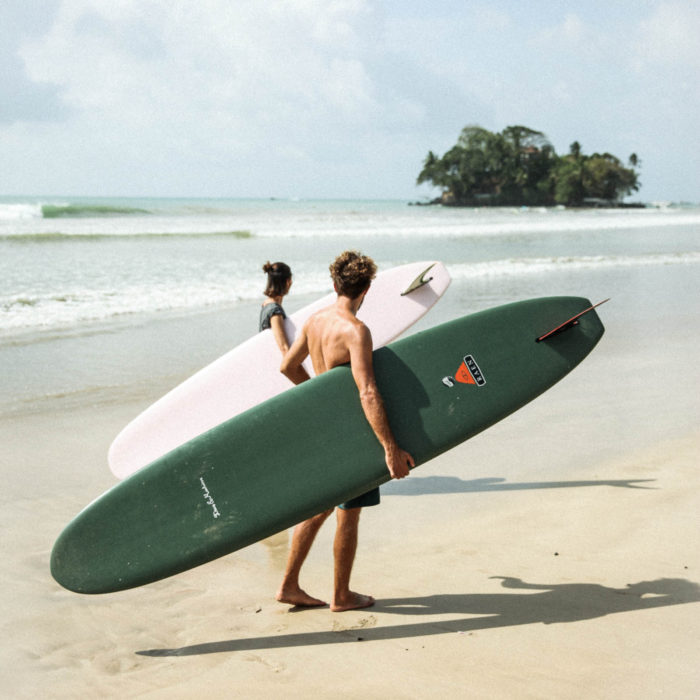 Weligama beach Ceylon Sliders