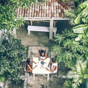 ceylon sliders cafe courtyard