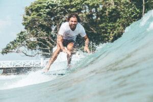 longboard surfing the island sri lanka