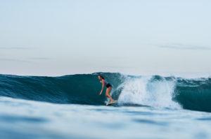 Karson Lewis surfing for Ceylon Sliders