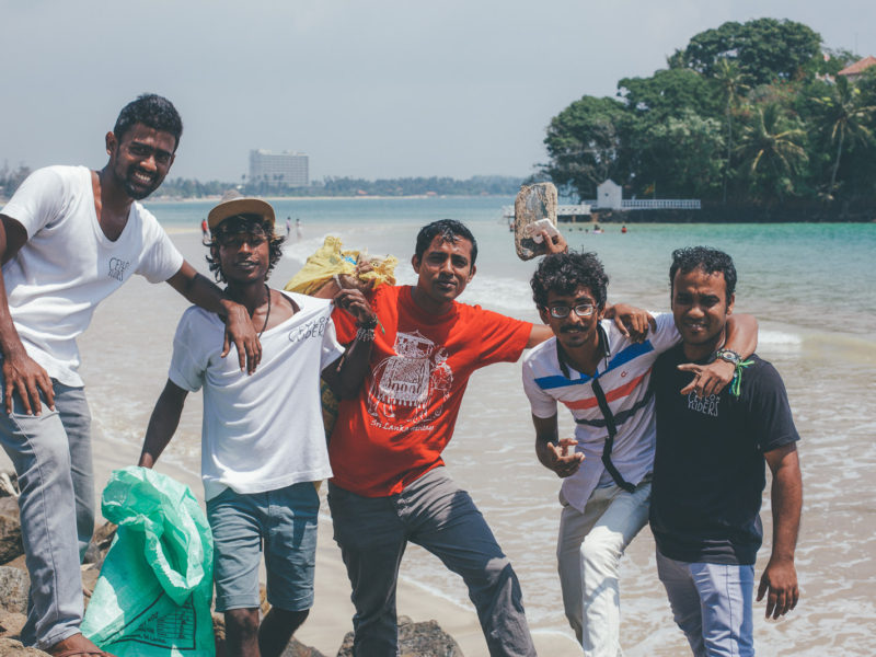 Ceylon Sliders Weligama Beach Clean