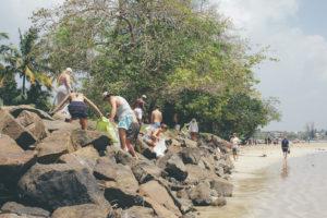 Beach Clean at Ceylon Sliders