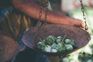Fresh goodness at Weligama market