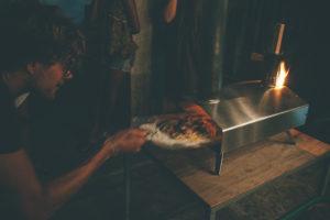 Ceylon Sliders pizza evening