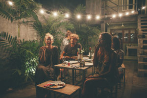 Pizza night at Ceylon Sliders