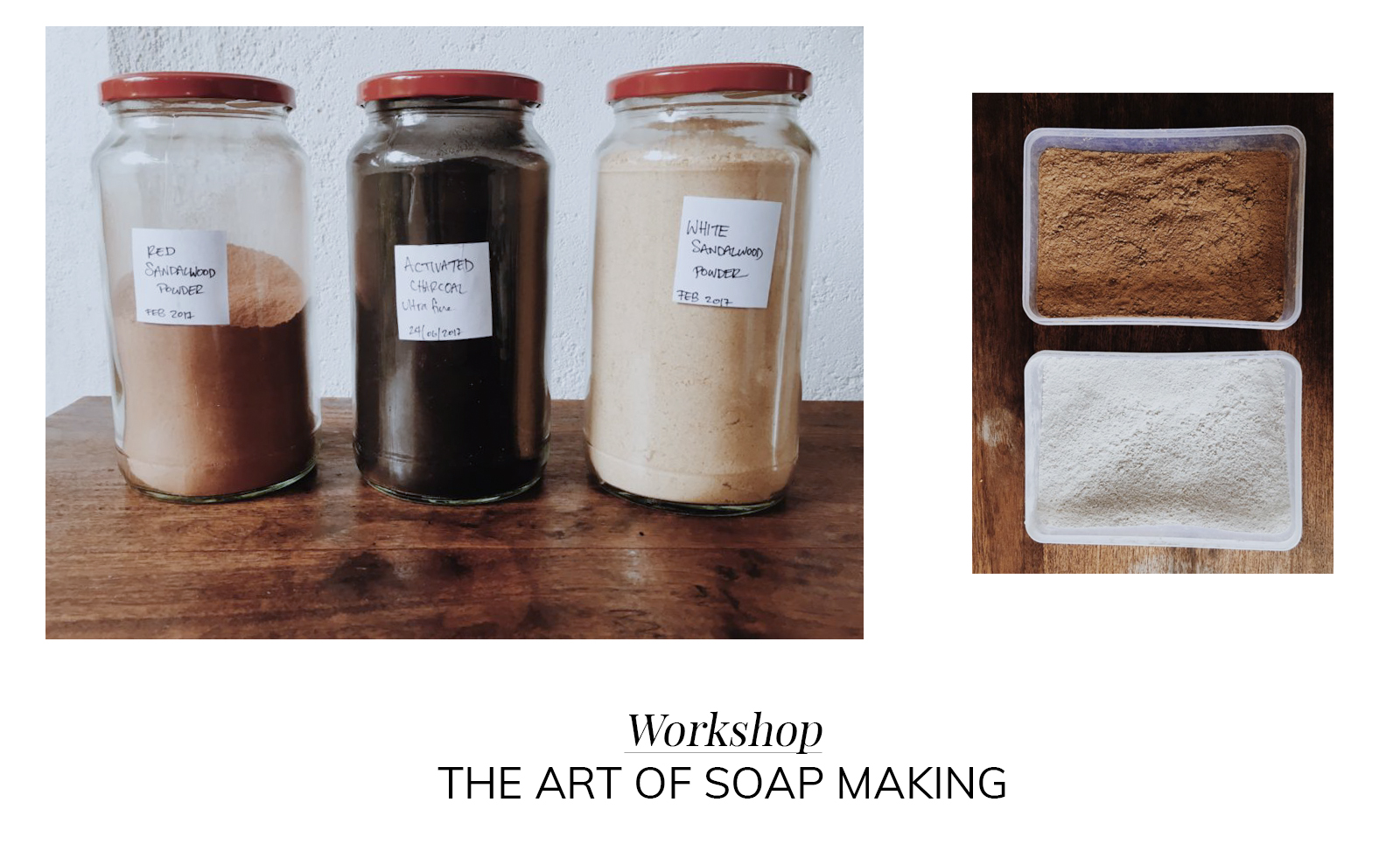 Ceylon Sliders Workshop: The art and science of soap making