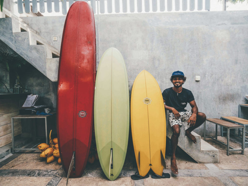 The Surf: Thili's Quiver